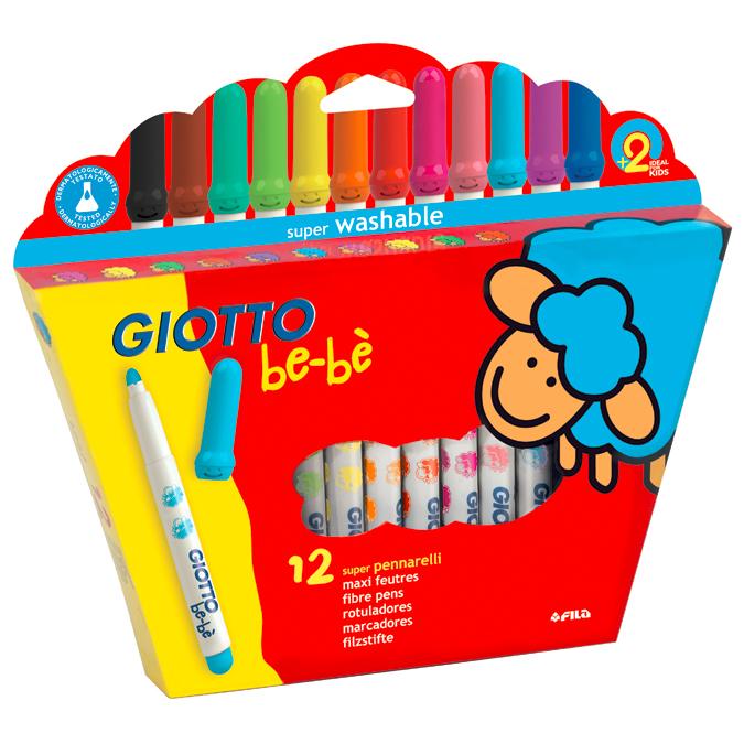 Feutres de coloriage enfant pochette de 12