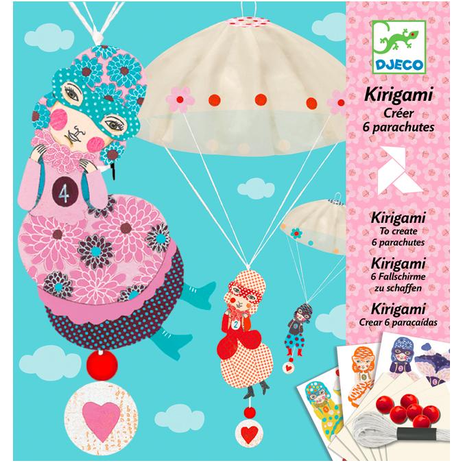Coffret kirigami équipe des filles