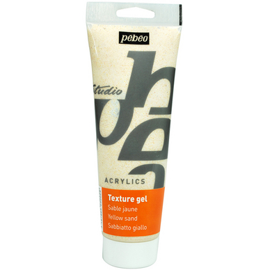 Gel de texture sable jaune Studio 250 ml