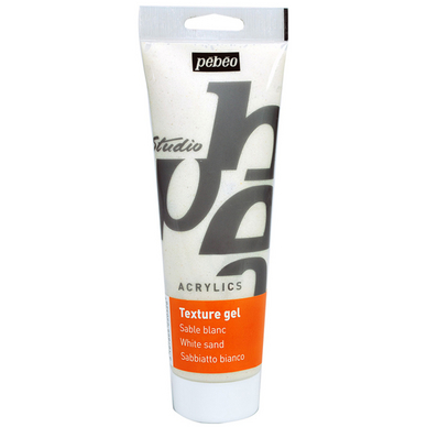 Gel de texture sable blanc Studio 250 ml