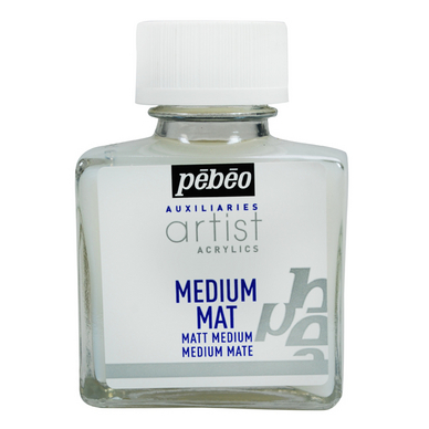 Médium acrylique artist mat 75 ml