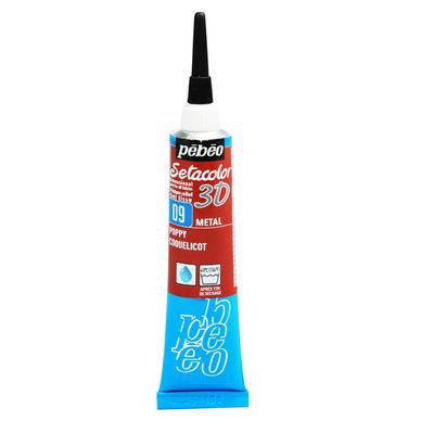 Peinture relief s tacolor 3d effet m tal 20 ml p b o chez - Peinture effet relief ...