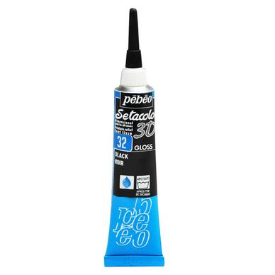 Peinture relief s tacolor 3d effet brillant 20 ml p b o - Peinture effet relief ...