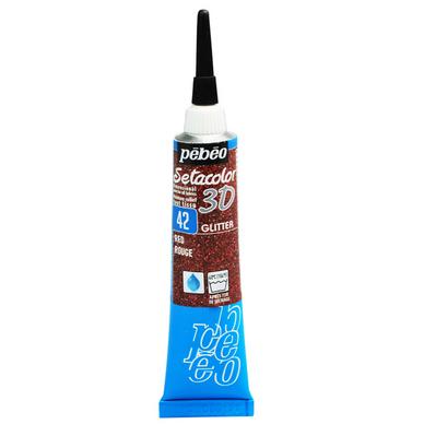 Peinture relief s tacolor 3d effet glitter 20 ml p b o - Peinture effet relief ...