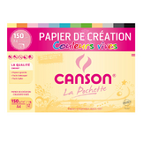 Pochette de papier Colorline couleurs vives A4 150 g/m²