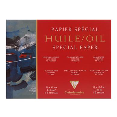 Bloc de papier pour peinture l 39 huile 240 g m - Papier pour peinture huile ...