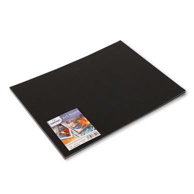 Art board papier lisse noir 30 x 40 cm 1230 g m canson - Papier a peindre lisse ...