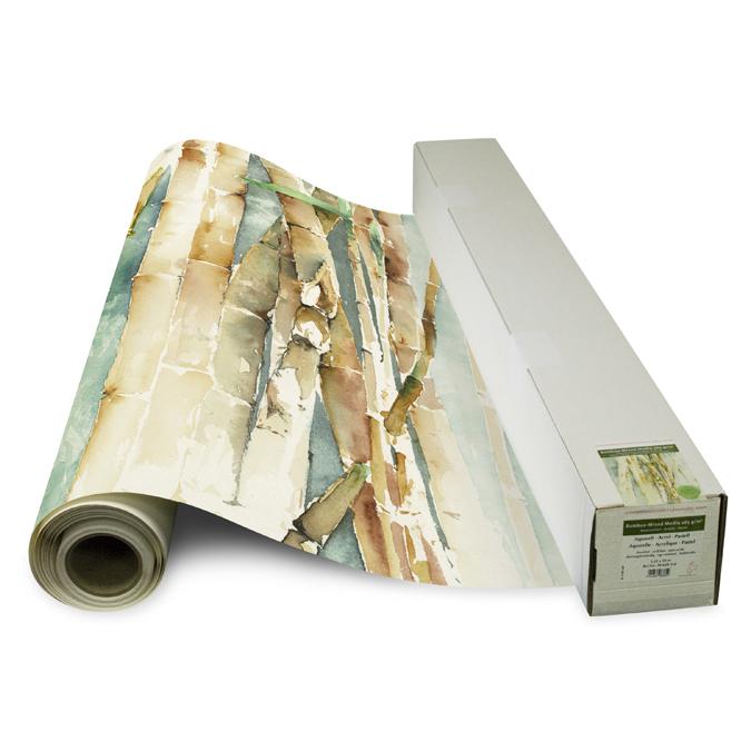 Rouleau de papier bamboo 1,25 x 10 m 265 g/m²