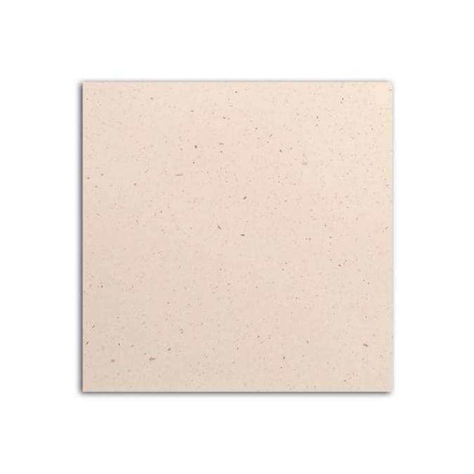 Papier de scrapbooking Kraft blanc moucheté 30x30cm