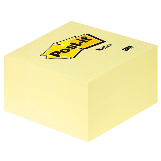 Bloc Post'it cube jaune