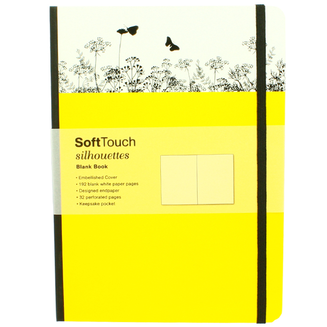 Carnet de notes SoftTouch silhouettes summer 16 x 22 cm