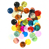 Sequins en nacre Rond 12mm assortis