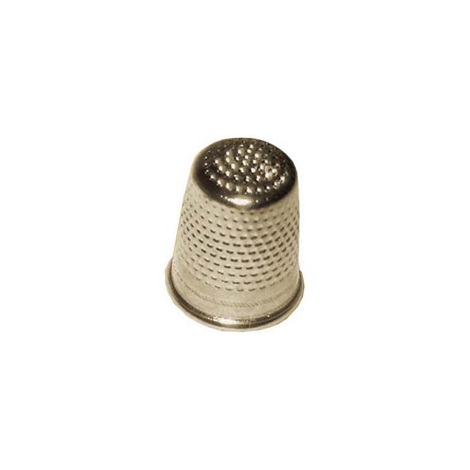 Dé à coudre en laiton 14,5 mm n° 6