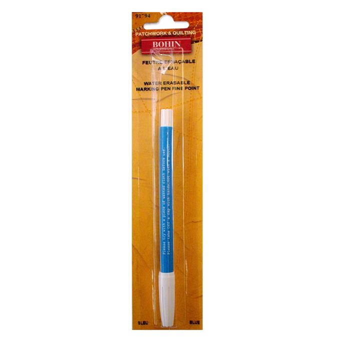 Stylo encre bleue effaçable à l'eau