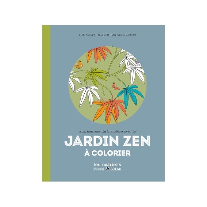 Livre de coloriage - Jardin Zen