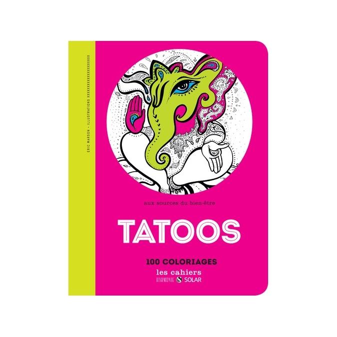 Livre de coloriage - Tattoo