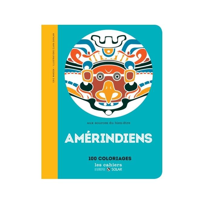 Livre de coloriage - Amérindiens