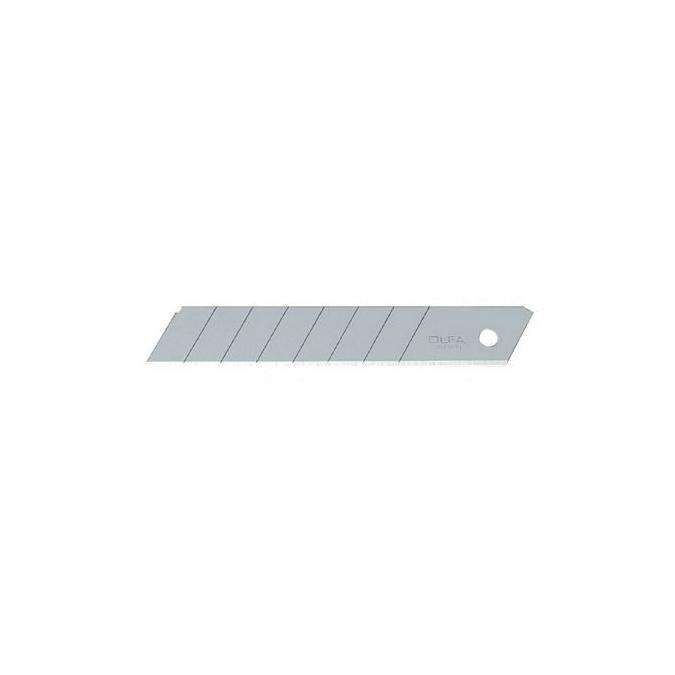 Lame en acier pour cutter 18 mm par 10