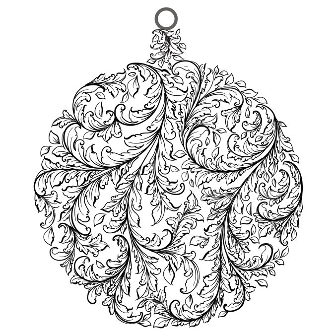 Tampon Baroque Bauble