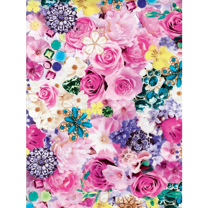 Papier Décopatch 30 x 40 cm 639 roses pop