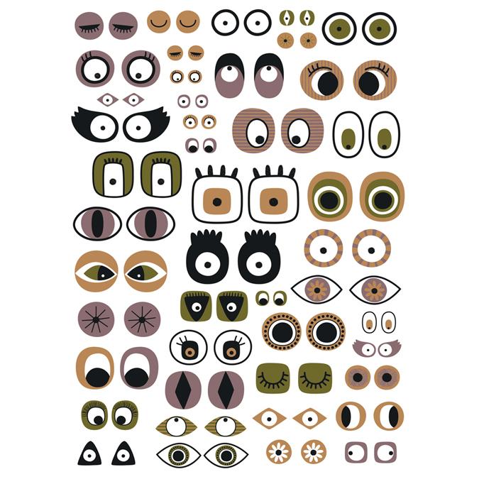 Papier Décopatch 30 x 40 cm 668 yeux