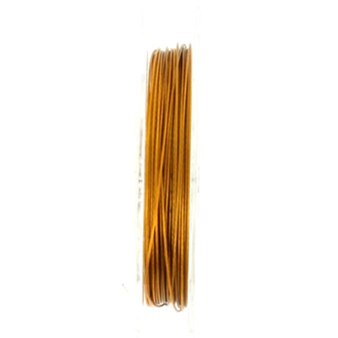 Fil câblé bronze 0.4mm par 5m