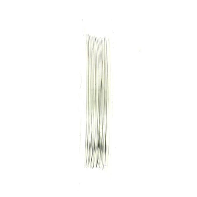 Fil de laiton argent 0.3mm par 10m