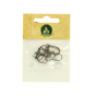 Support boucles d'oreille fil bronze