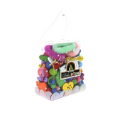 Sachet de perles enfants assortiment multicolore