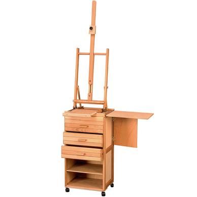 chevalet d 39 atelier sur meuble millet roulettes lefranc bourgeois chez rougier pl. Black Bedroom Furniture Sets. Home Design Ideas