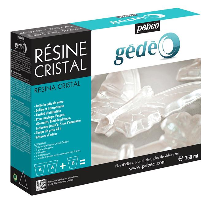 Kit résine 750ml cristal