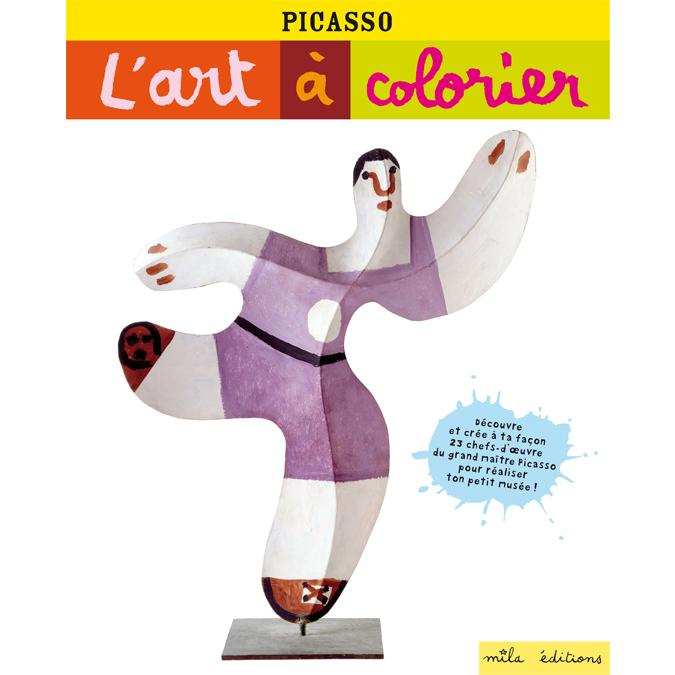 Cahier de coloriage créatif Picasso