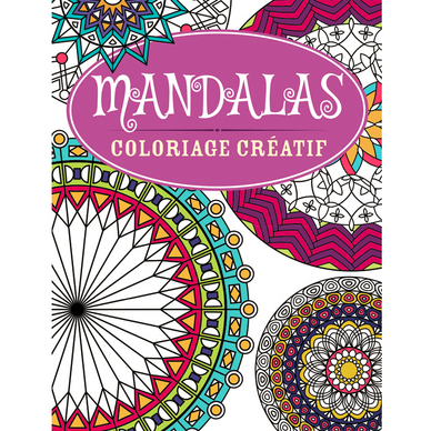 cahier de coloriage cr atif mandalas dilisco chez rougier. Black Bedroom Furniture Sets. Home Design Ideas