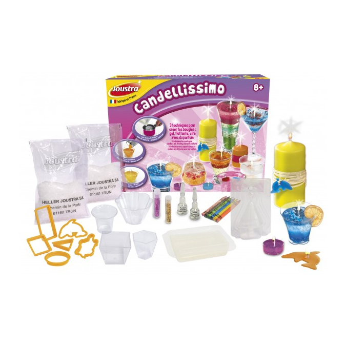 Coffret création bougies Candellissimo