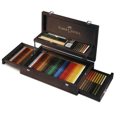 coffret collection crayons et craies beaux-arts x 126 faber