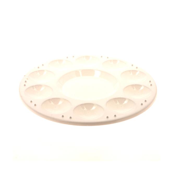 Palette en plastique 17 cm 10 alvéoles