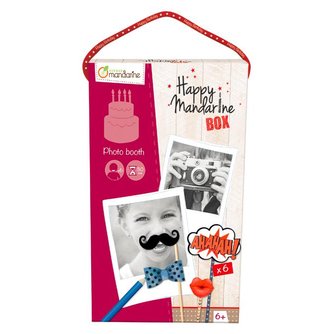 Coffret créatif Happy Mandarine Box