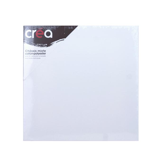 Châssis carré Mixte polyester + coton 40 X 40 cm