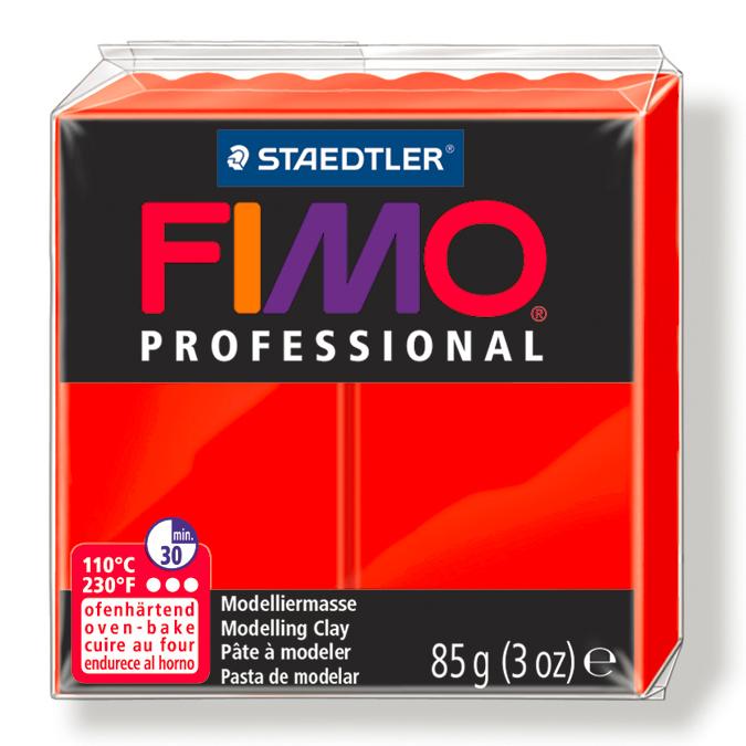 Pâte polymère Fimo Pro 85 g 23 - Bordeaux