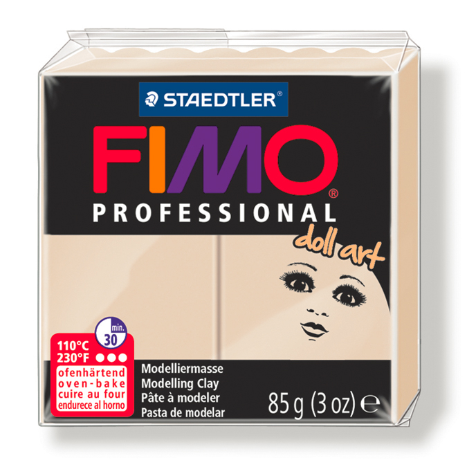 Pâte polymère Fimo Pro Doll Art 85 g 03 - Porcelaine