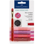 Crayons Gelatos 4 nuances de rouge