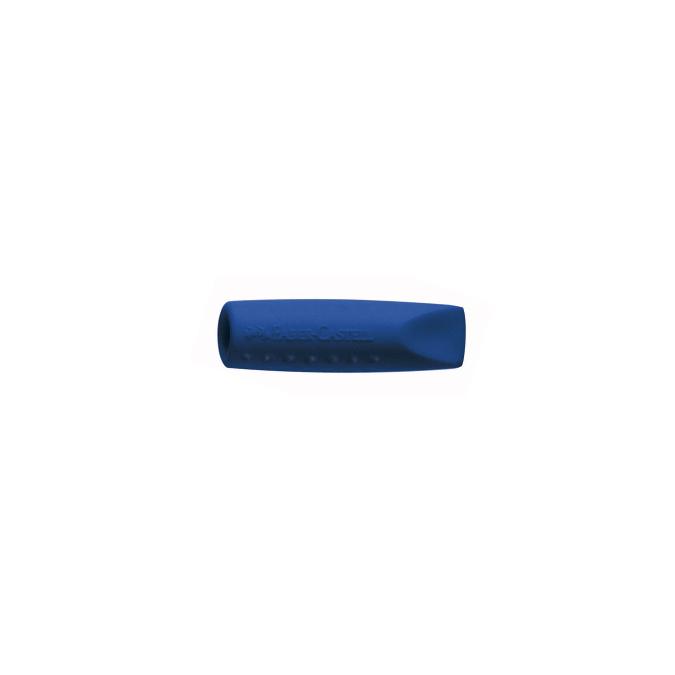 Gomme capuchon bleues Grip pour crayon par 2