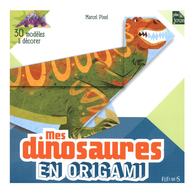 Mes dinosaures en origami