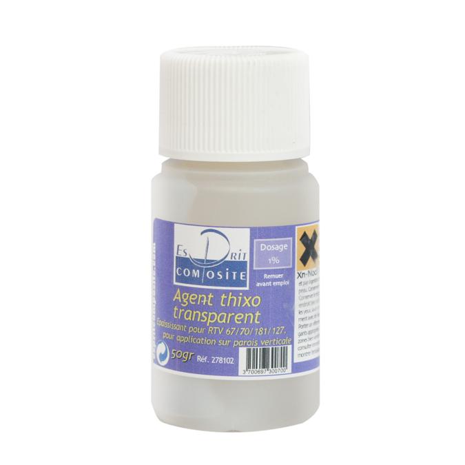 Agent thixotropique transparent 50 g à 1%