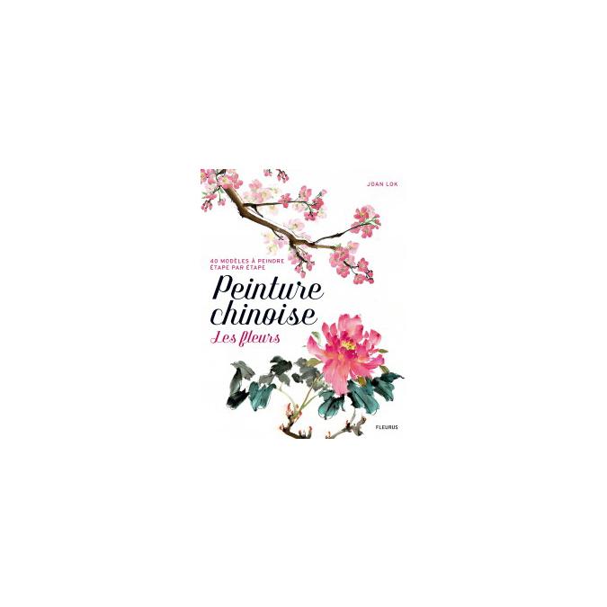 Livre Peinture chinoise : les fleurs