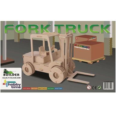 Maquette 3d en bois chariot l vateur glorex chez rougier for Construction 3d en ligne