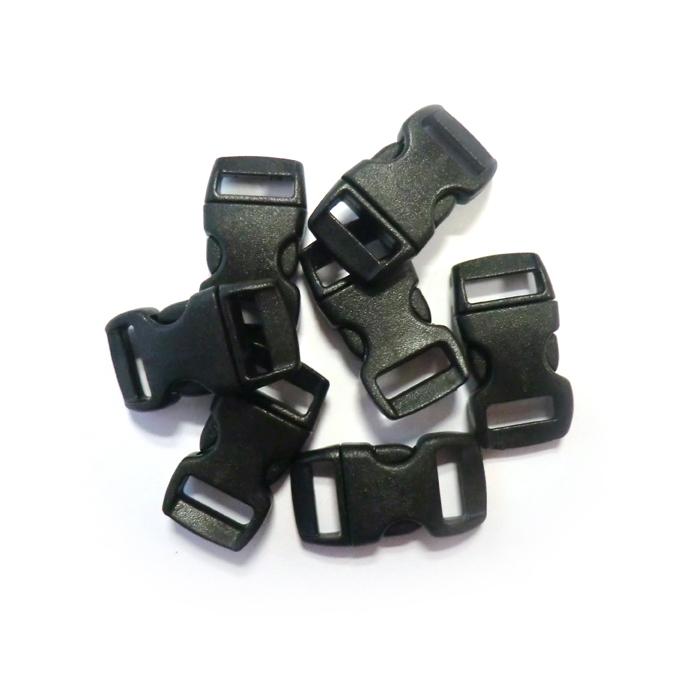 Clips Créacord noir 10 mm lot de 100 pièces