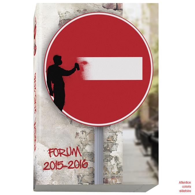 Agenda journalier 12 x 17 cm Forum Crazy road
