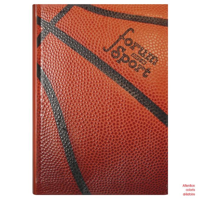 Agenda journalier 12 x 17 cm Forum Sports