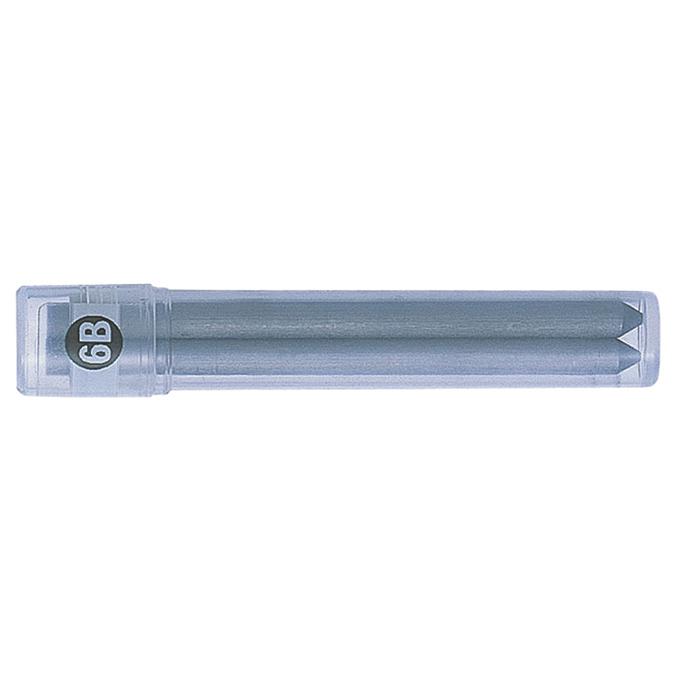 Mines 3,8 mm 6B pour porte-mine 2 pièces